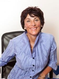 Paula Pagano in her San Francisco Office