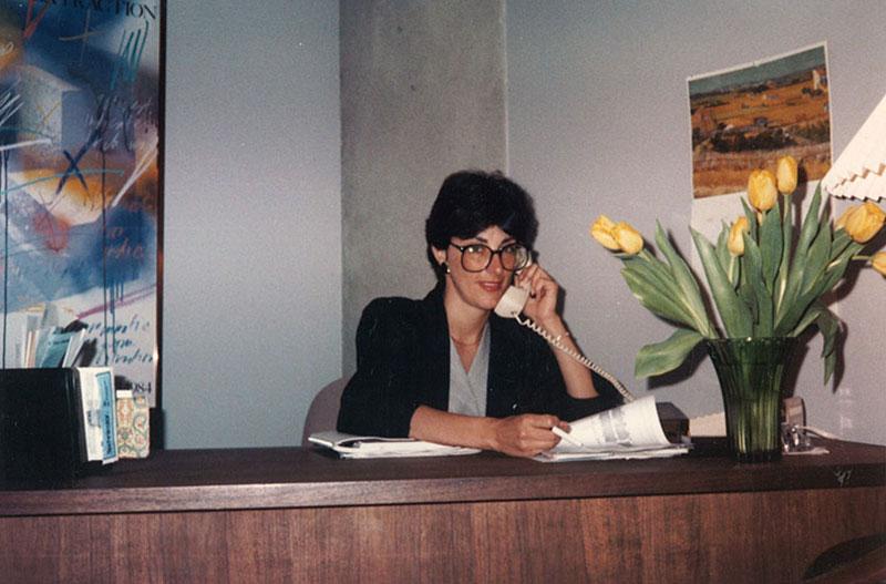 Paula-Pagano-working-late-at-office